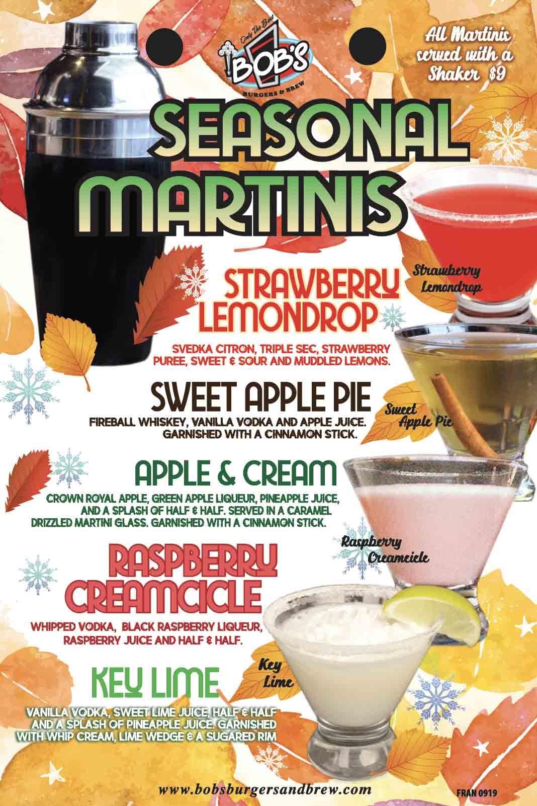 Season Martinis